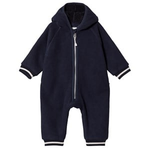 Image of Mini A Ture Adel Onesie Sky Captain Blue 62 cm (2-4 mdr) (3125281521)