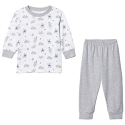 Kissy Kissy White And Grey King of the Castle Pajamas