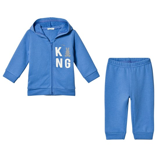 United Colors of Benetton Set Jacket+Trousers Blue Blue