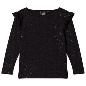 Image of Petit by Sofie Schnoor Black Glitter Shirt 104 cm (3125247701)