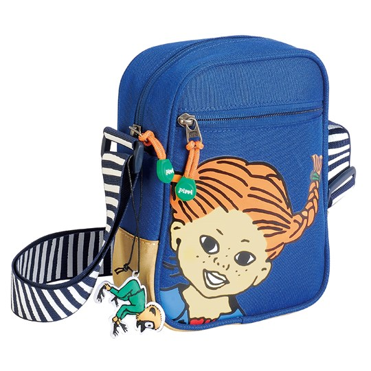Pippi Långstrump Pippi Shoulder Bag Blue Blue