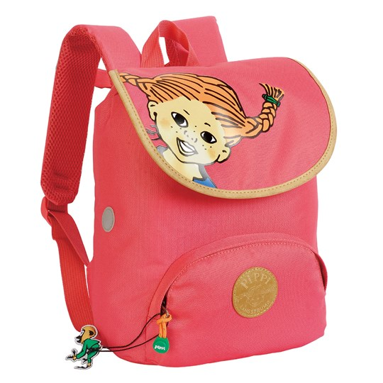 Pippi Långstrump Pippi Flap Backpack Pink Pink