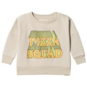 Image of Hugo Loves Tiki Pizza Squad Wide Sweatshirt Pale Green 12-18 mdr (3125272053)