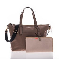Jem + Bea Beatrice Changing Bag Taupe