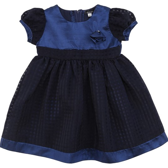 Jocko Navy Baby Dress Navy