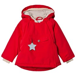 Mini A Ture Wang Jacket Chinese Red