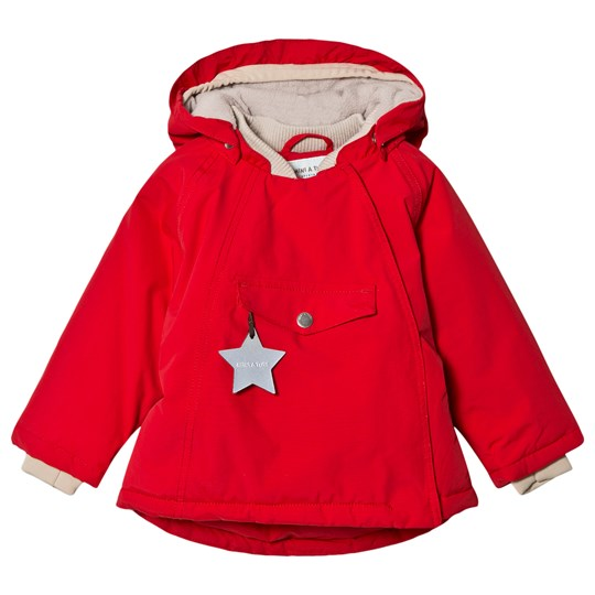 Mini A Ture Wang Jacket Chinese Red Chinese Red