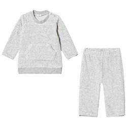 United Colors of Benetton Grey Chenille Sweater and Pants Set