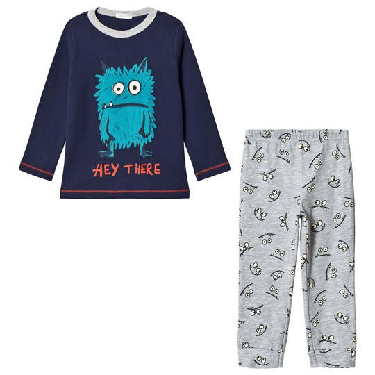 United Colors of Benetton Pyjama(Sweater+Trous Navy&Grey NAVY&GREY