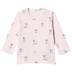 United Colors of Benetton Pink All-Over Print Tee