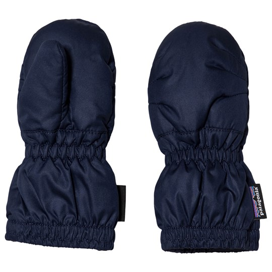 Patagonia Navy Baby Puff Mittens CNY