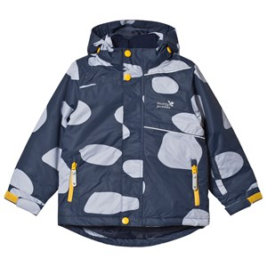 Image of Muddy Puddles Blizzard Ski Jacket Navy Log 7-8 years (3125275041)