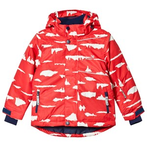Image of Muddy Puddles Blizzard Ski Jacket Red Birch 2-3 years (3125275047)