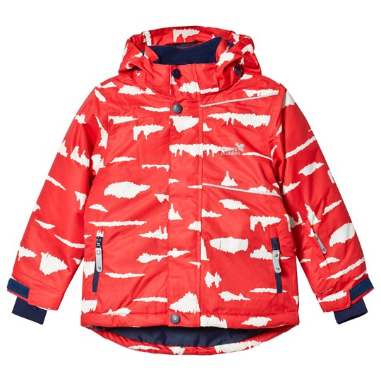Muddy Puddles Blizzard Ski Jacket Red Birch Rød