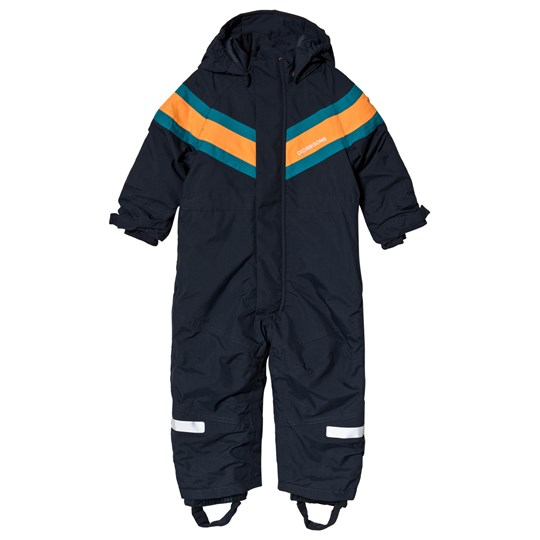 Didriksons Romme Kids Overalls Navy Marinblå