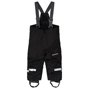 Image of Didriksons Idre Kids Pants Black 110 (4-5 år) (1183400)