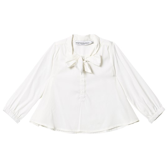 How To Kiss A Frog Poppy Blus Off White Off white