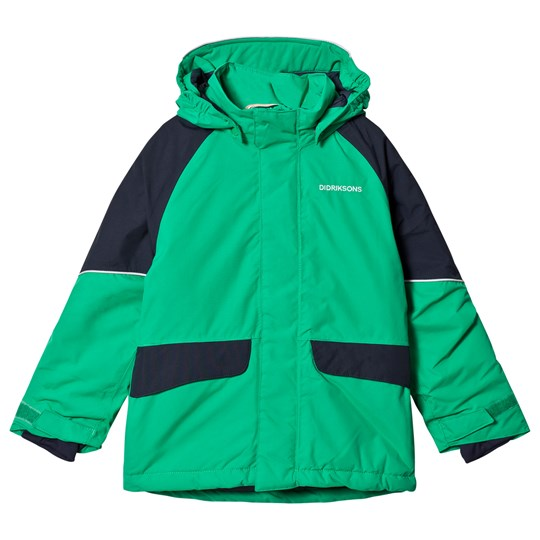 Didriksons Ese Kids Jacket Bright Green Bright gre