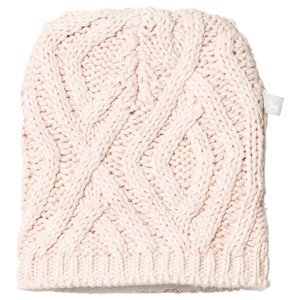 Image of The Little Tailor Pink Knitted Beanie 6-12 months (1207381)