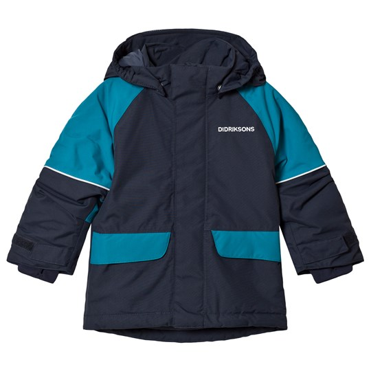 Didriksons Ese Kids Jacket Navy Navy