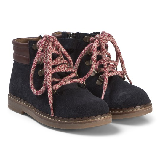 Pom Dapi Ubac Mountain Boots Navy/Brown Navy/Brown