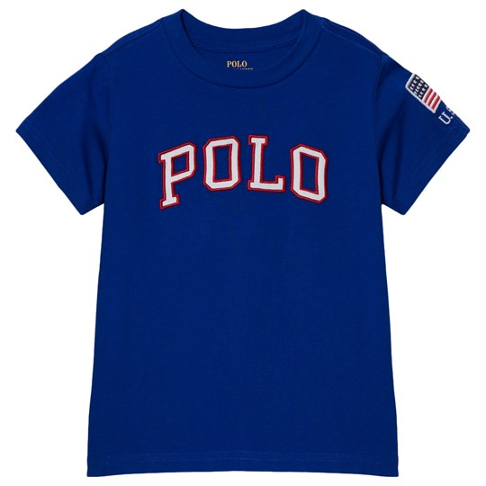 Ralph Lauren Royal Blue Logo Tee 001