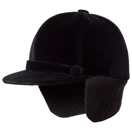 9050021f9c5 Bonpoint. Black Velvet Riding Cap