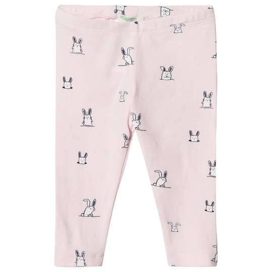 United Colors of Benetton Light Pink All-Over Print Leggings Light Pink