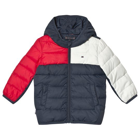 Tommy Hilfiger Navy Flag Padded Baby Jacket 002