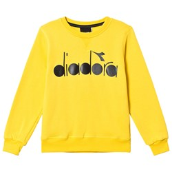 Diadora Yellow & Black Branded Sweatshirt