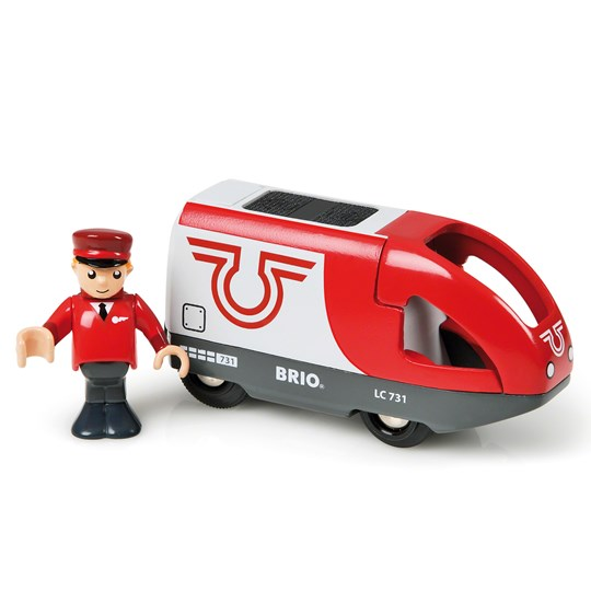 BRIO BRIO® World - 33504 Rött Batteridrivet Passagerartåg Multi