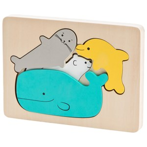 Image of Wood Little Ocean Puzzle One Size (1137197)