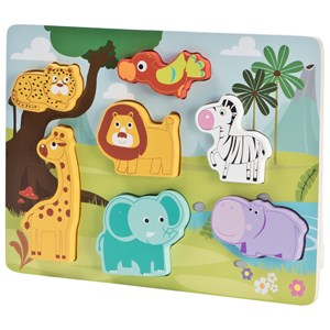 Image of Wood Little Animal Puzzle (3125306829)