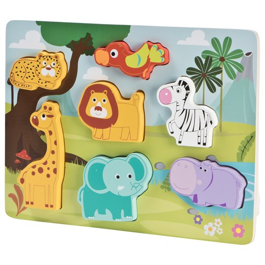 Wood Little Animals Pussel