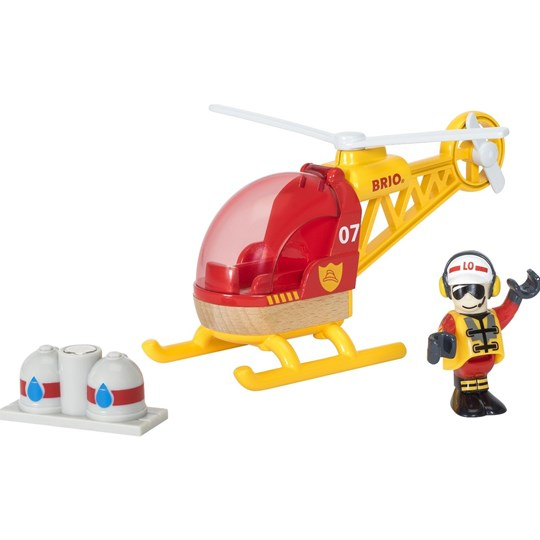 BRIO BRIO® World - 33797 Firefighter Helicopter пестрый