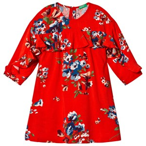 Image of United Colors of Benetton Coral Floral Kjole 10/11Y (XL 150cm) (1216007)