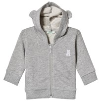 08ff2f5416 United Colors of Benetton Grey Hoodie with Ear Details Black