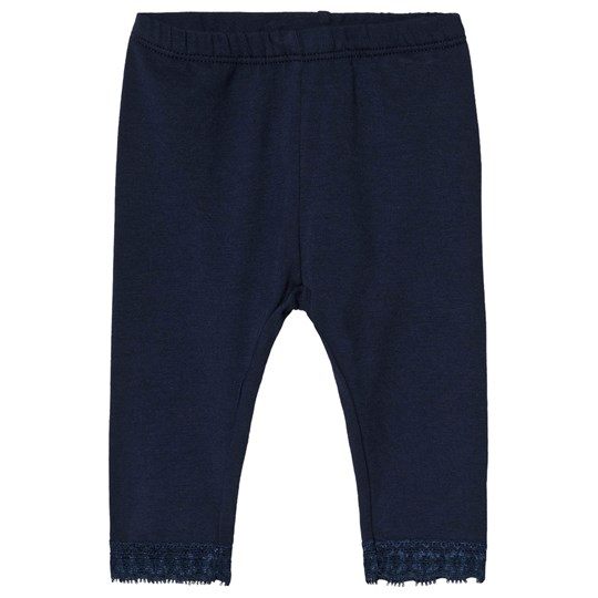 United Colors of Benetton Navy Leggings with Lace Navy