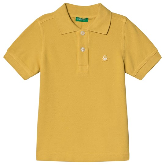 United Colors of Benetton Polo Shirt Yellow Yellow