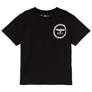 Image of Boy London Black and White Eagle Print Tee 11-12 years (3125311541)