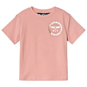 Image of Boy London Pink and Gold Eagle Print Tee 5-6 år (1221469)
