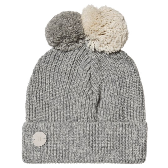 Huttelihut Patent Knitted Beanie Light Grey Light Grey