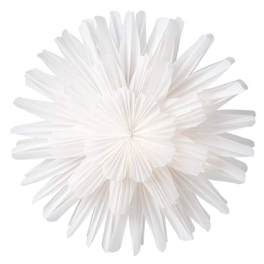 Watt & Veke Snow Blossom Advent Star 44 cm White White
