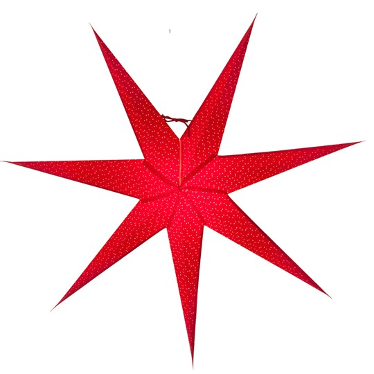 Watt & Veke Aino Advent Star 80 cm Red Red