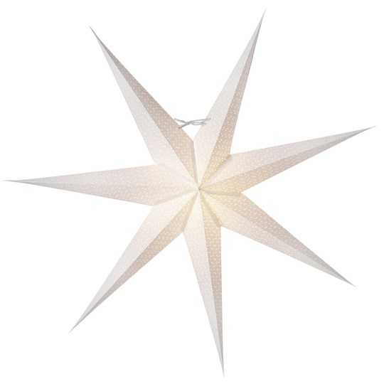 Watt & Veke Aino Advent Star 80 cm White White