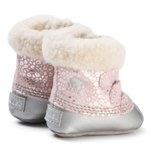 Sorel - Dusty Pink and Chrome Grey