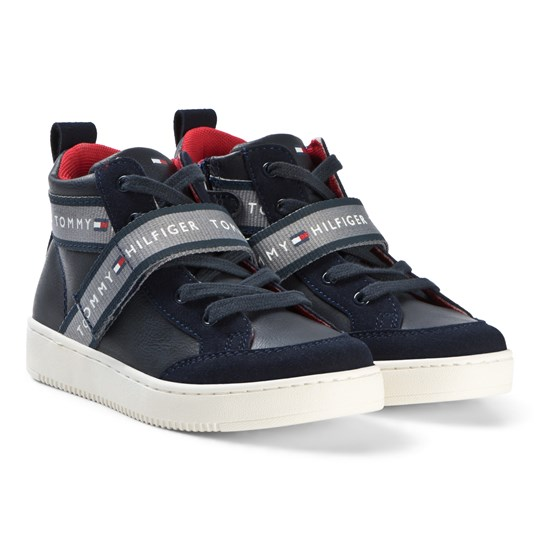 Tommy Hilfiger Navy Logo Detail Sneakers 800