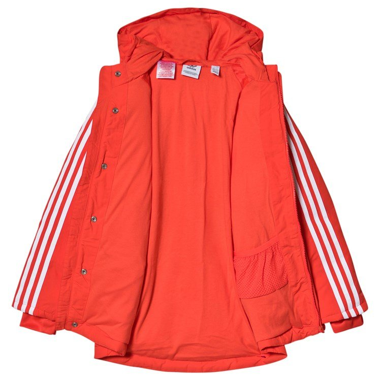 Adidas warm up jacket. Size medium, yellow red