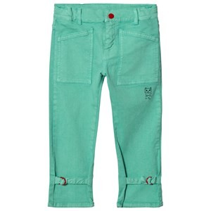 Image of Bobo Choses W.I.M.A.M.P. Green Trousers 8-9 år (3125276807)
