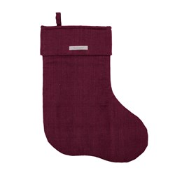 Bloomingville Christmas Stocking Red